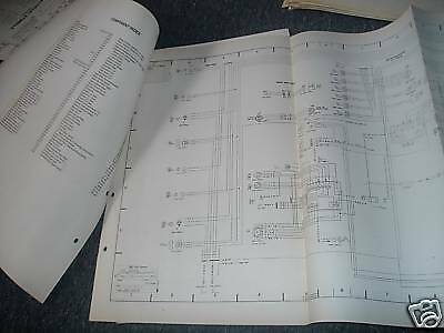 1989 ford taurus mercury sable wiring diagram set ebay