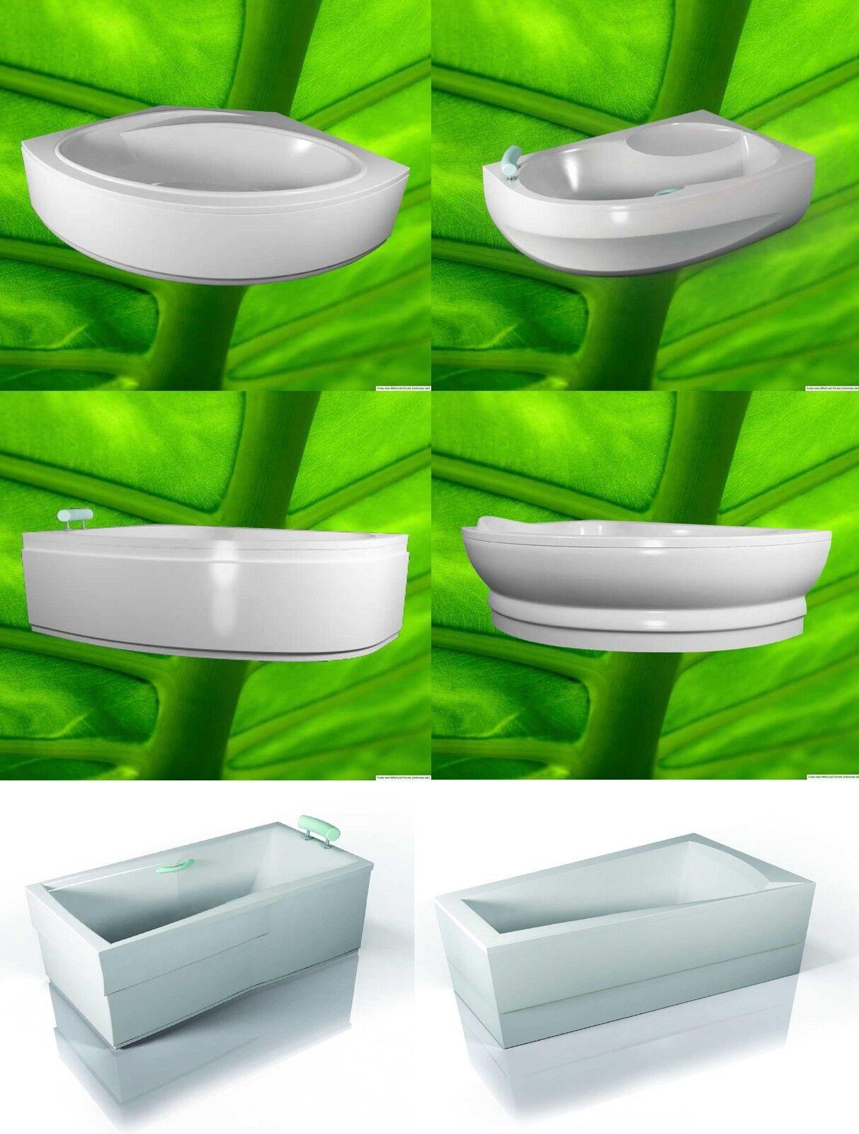 Badewannenschürze - Acrylschürze - passend zu Ihrer bei uns gekauften Wanne