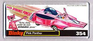 Pink Caja Detalles De Magnet Título Arte Juguete Fridge Panther Coche Toy Classic RecuerdosVer Original Amplia DHEIW9Yeb2