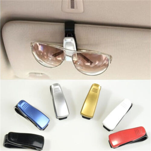 Fashion Car Vehicle Sun Visor Sunglasses Eye Glasses Card Pen Holder Clip TO