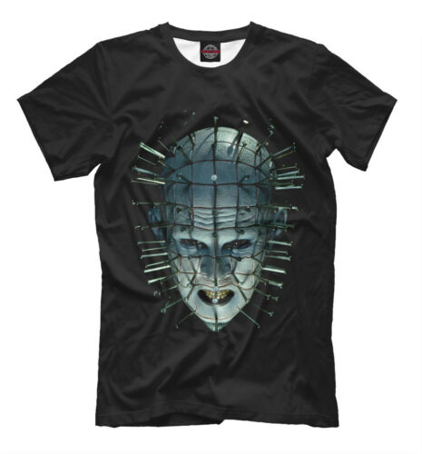 hot Hellraiser t-shirt - scary movie nightmare Pinhead tee clothing fear horror for sale