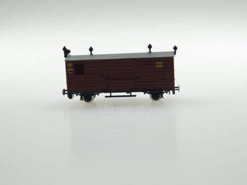 Technomodell H0e 4204 gedeckter Güterwagen KS OVP