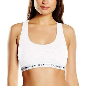 7cbded36bd46f Image is loading Tommy-Hilfiger-Women-Iconic-Cotton-Bralette-Racer-Back-