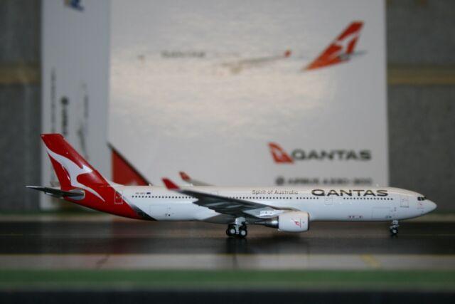 "Gemini Jets 1:400 Qantas Airbus A330-300 VH-QPJ ""New"" (GJQFA1625) Die-Cast Model"