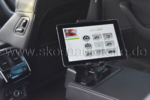 neu skoda tablet halter set original ebay. Black Bedroom Furniture Sets. Home Design Ideas
