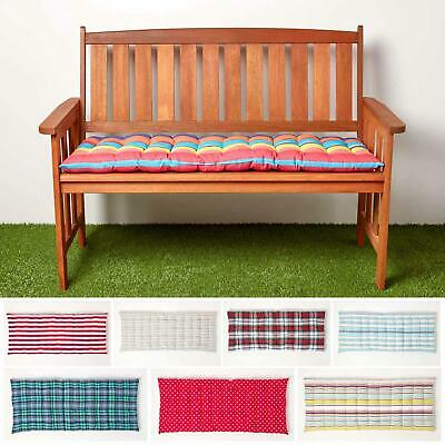 Garden Bench Cushion 2 3 Seater Indoor, Waterproof Garden Bench Pads Uk