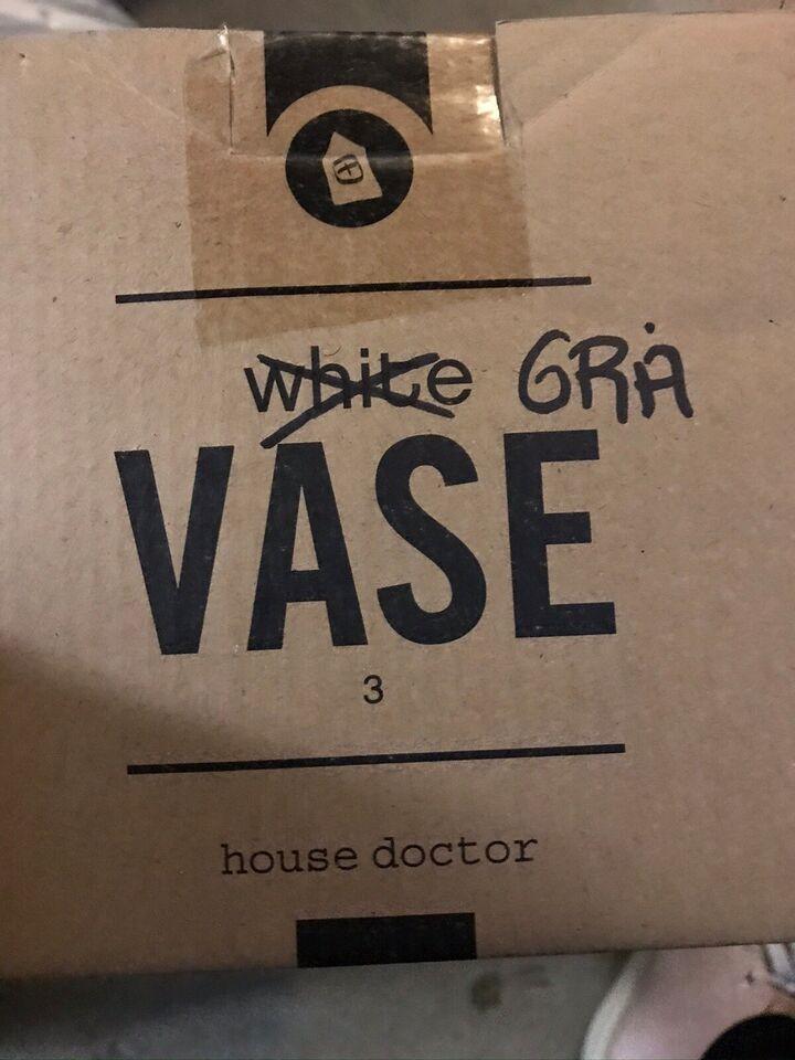Krukker, House Of Doctor, Glaseret Fajance
