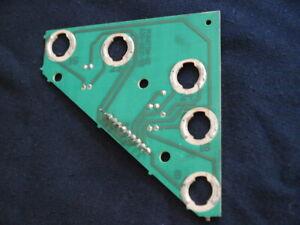 Data East Pinball Machine Phantom Of The Opera lamp board socket circuit 1