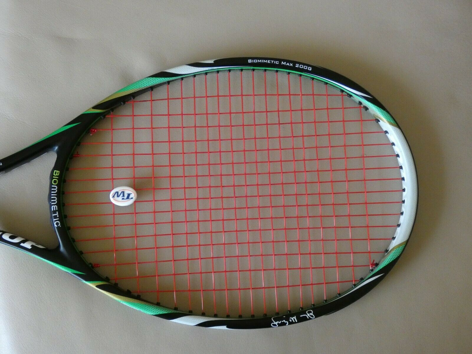 Dunlop Max 200G Biomimetic Tennis Racket McEnroe 4 3 8 Very Good Condition