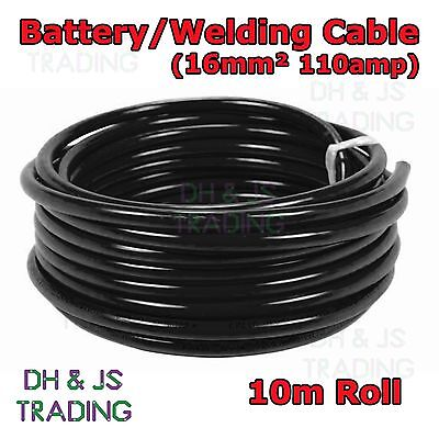 Flexible Marine Boat Automotive Wire 10m Red Battery Welding Cable 16mm² 110a