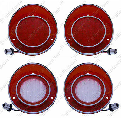 1968 Chevy Corvette LED Taillights Backup Lights 1969 1970 1971 1972 1973