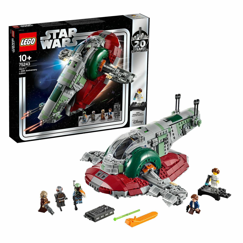 NEW LEGO Star Wars 20th Anniversary Edition - Slave 1 - set 75243 - 1000 pieces