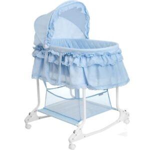 Babywiege Stubenwagen Schaukel Baby Stuben Bettchen Bett Beistellbett Kinder