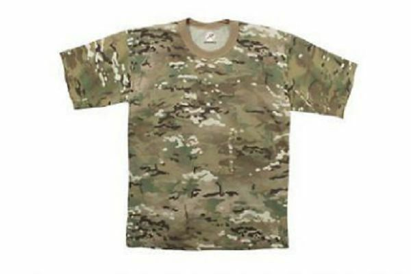 US Multicam OCP ARMY T-SHIRT SHORT SLEEVE SHORT SLEEVE SHIRT 3XL