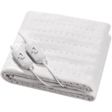 SUPER COMFY LUXURY ELECTRIC BLANKET UNDER HEATED WASHABLE SINGLE DOUBLE KING BED