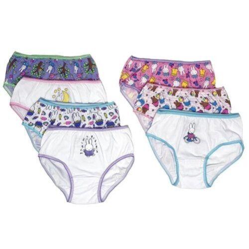 MIFFY Girls/' 7-Pack Underwear Panties