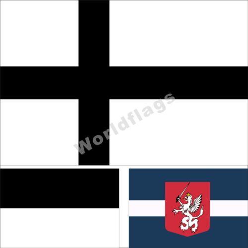 People Flag 3X5FT Baltic Prussian Latgalian United Baltic Duchy Latgale Banner