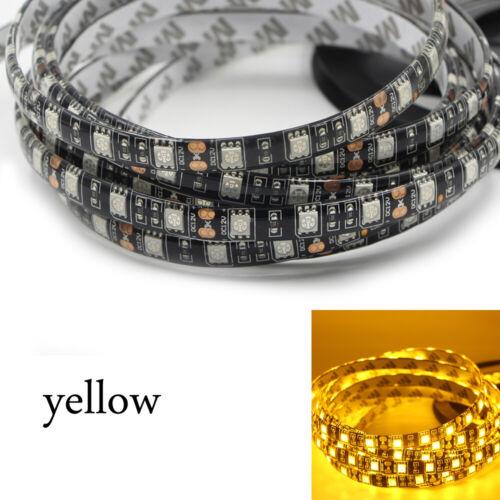 5050 SMD LED Strip Lichtleiste Lichtband Licht Schlauch Streifen schwarzes PCB