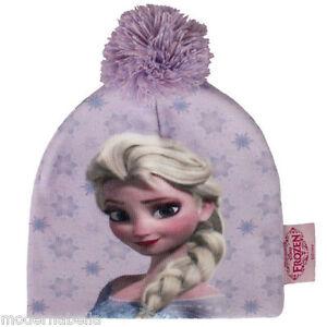 Ragazza Disney Frozen FROZEN Bambini Berretto Inverno Autunno 52 54