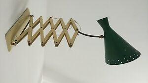 ORIGINAL VINTAGE ITALIAN LAMP lampada a pantografo design industriale stilnovo - Italia - ORIGINAL VINTAGE ITALIAN LAMP lampada a pantografo design industriale stilnovo - Italia