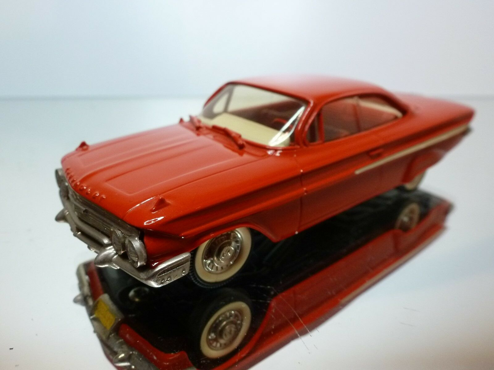 BROOKLIN BRK 44 -  CHEVROLET IMPALA COUPE 1961  - 1 43 - EXCELLENT CODITION  - 7