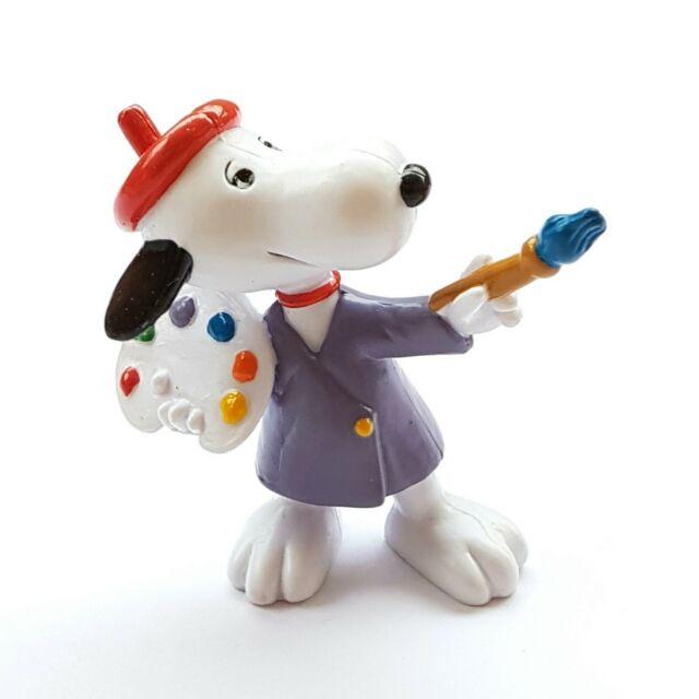 Figurine Collection Snoopy Artist Painter Schleich 22236 New