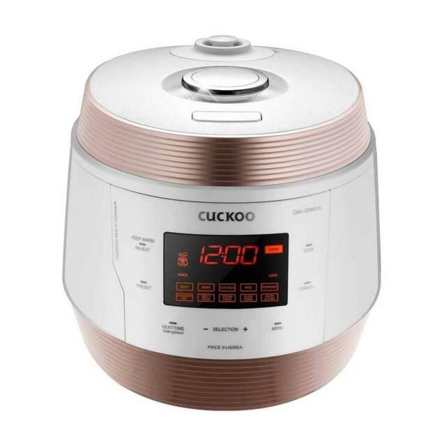 CUCKOO CMC-QSB501S ICOOK Q5 Premium Dampfdruck Multikocher 4750ml 8in1