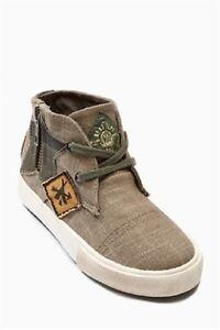 Next-Chukka-Trainers-Boys-Boots-Kids-Shoes-Sizes-UK-4-Infant-UK-5-Infant