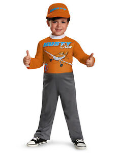 Details about Dusty Crop Hopper Airplane Disney Planes Boys Halloween  Costume