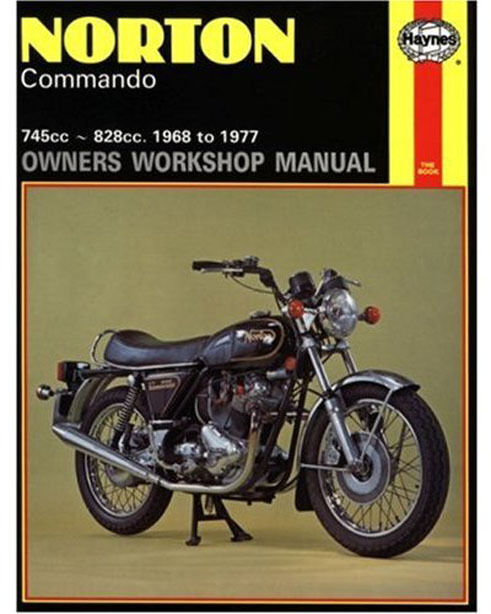 Norton Commando 750 850 Haynes Workshop Service Repair Manual1968