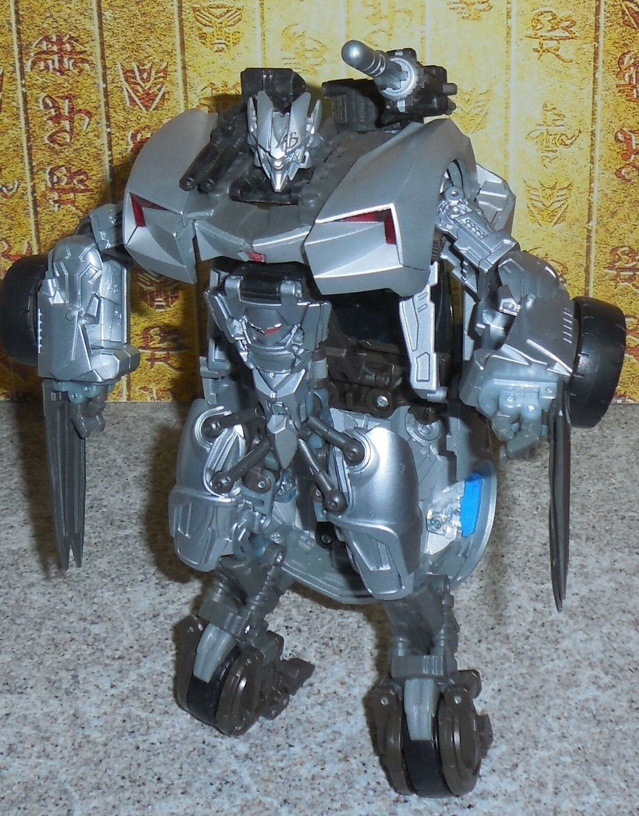 Transformers Humano Alianza Sideswipe redf Revenge Of The Fallen