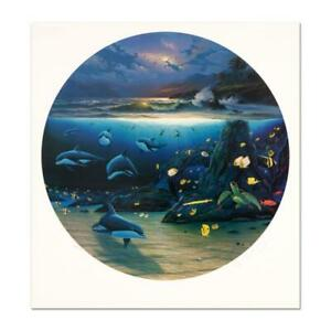 Wyland-034-Moonlit-Waters-034-Signed-Limited-Edition-Art-COA