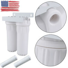 NEW Countertop Dual Stage Water Filtration System Filtro de agua purifier clean