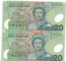 New Zealand $20 2in1 uncut UNC Polymer