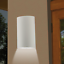 Outdoor Wall Sconce 12-in Cylinder CFL Lightolier Calculite CW714VUCCL /_2427