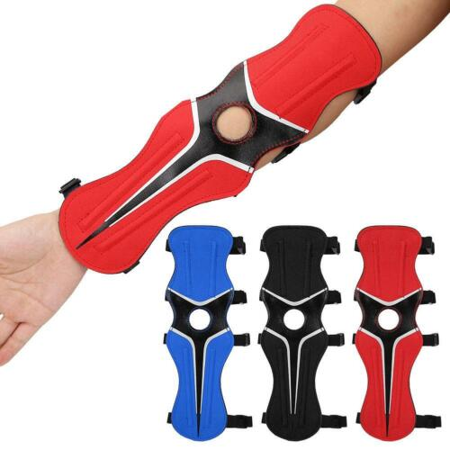 Adjustable Shooting Archery Arm Guard Band Protector for Longbow Recurve Bow!