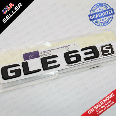 Gloss Black Nameplate ABS G 63 Emblem Trunk Lid Logo Badge Decoration SUV