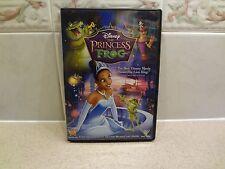 WALT DISNEY THE PRINCESS AND THE FROG DVD
