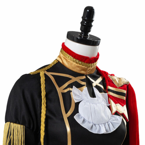Fire Emblem Three Houses Edelgard von Fresberg Outfit Cape Cosplay Costume Suit