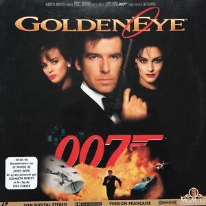 LASERDISC-GoldenEye-JAMES-BOND-007-Pierce-BROSNAN-Famke-JANSEN-Ian-FLEMING