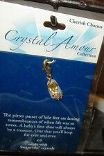 Crystal Amour Collection-Swarovski Crystal Shoe Charm Light Purple