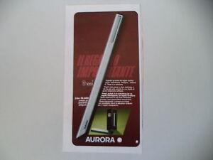 advertising-Pubblicita-1975-PENNA-AURORA-THESI
