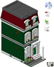 Lego® ISTRUZIONI/INSTRUCTIONS -Fortune Teller's House- (Custom Modular Building)