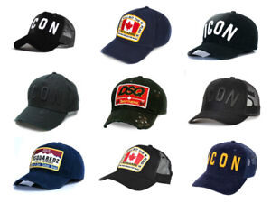 3b757c493b Dettagli su Dsquared Icona Baseball Hat Cap Dsquared 2 FRATELLI Venditore  Nuovo di Zecca UK 9 opzioni!- mostra il titolo originale