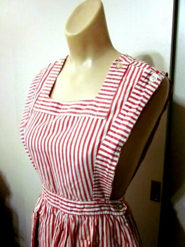 Vintage 40s Angelica Candy Stripper Uniform Jumper