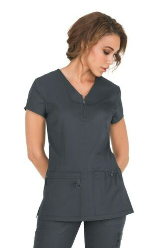 Koi Scrubs Women/'s Stretch Mackenzie V-Neck Top