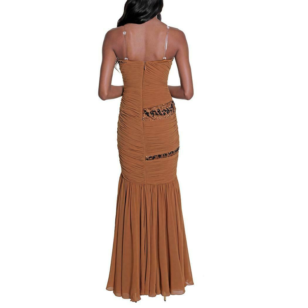 Mandalay röd Sequin Gown