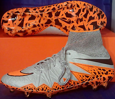 new product a1937 b2760 Nike Hypervenom Phantom II 2 FG Wolf Grey Orange Boots SZ US 13 (  747213-080 ) | eBay