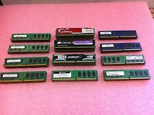 Lot of 96GB(48 x 2GB) Mixed Brand / Mixed Speed DDR2 Desktop Memory RAM - R6678