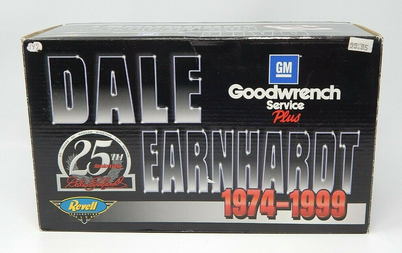 Revell Collectors Club Autographed Dale Earnhardt 25th Anniversary 1999